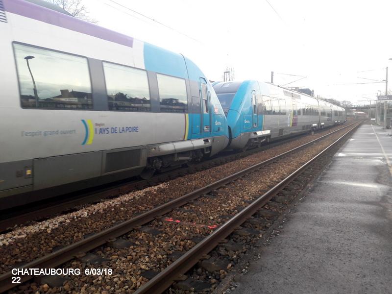 Gare de Châteaubourg [16/03/18] 20180887