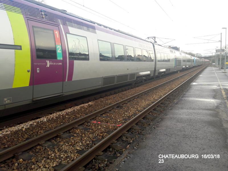 Gare de Châteaubourg [16/03/18] 20180888