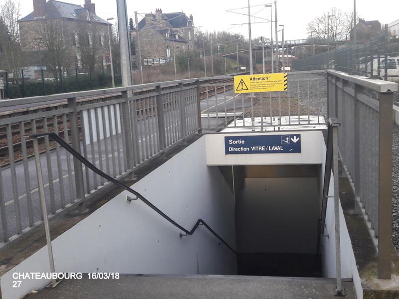 Gare de Châteaubourg [16/03/18] 20180892