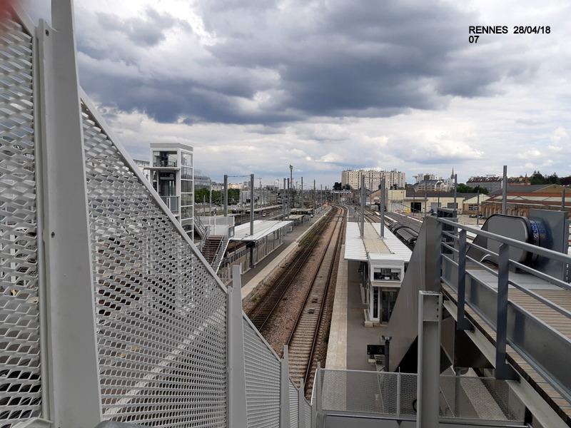 Rennes : ambiance grève (28/04/18) et pâté Henaff 20180984