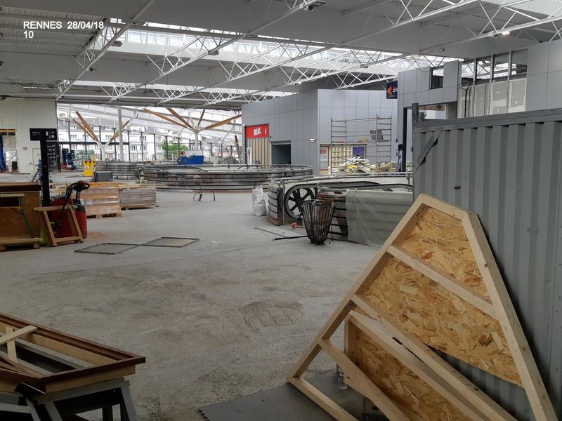 Rennes : ambiance grève (28/04/18) et pâté Henaff 20180991