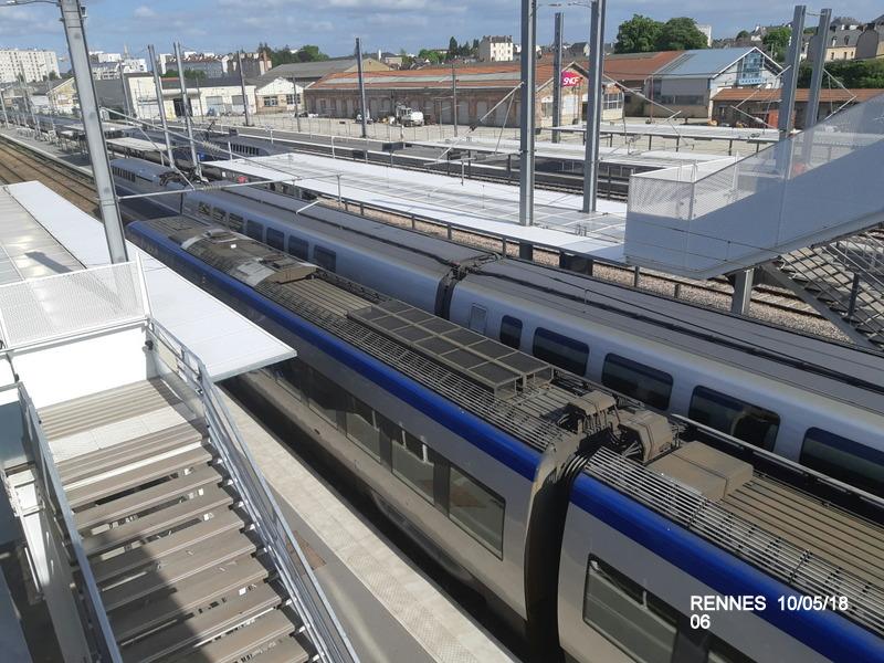 "Gare de Rennes : ambiance ""bleu-gwen du"" 10/05/18 20181059"