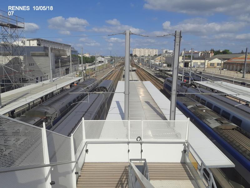 "Gare de Rennes : ambiance ""bleu-gwen du"" 10/05/18 20181060"