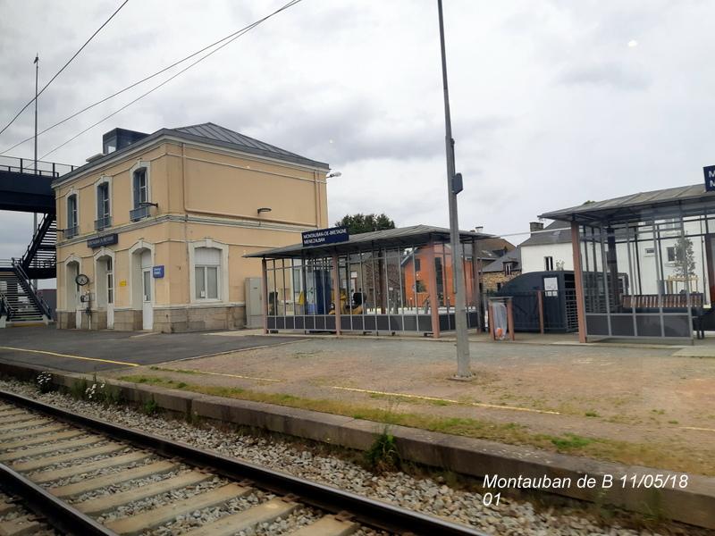 Gare de Montauban de Bretagne (Menezalban) [11/05/18] 20181064