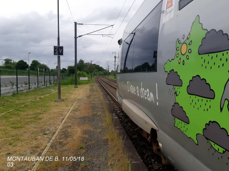 Gare de Montauban de Bretagne (Menezalban) [11/05/18] 20181066