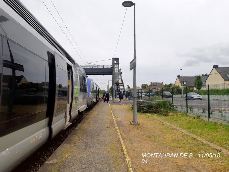 Gare de Montauban de Bretagne (Menezalban) [11/05/18] 20181067