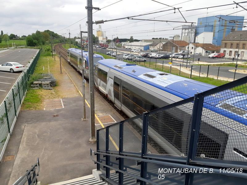 Gare de Montauban de Bretagne (Menezalban) [11/05/18] 20181068