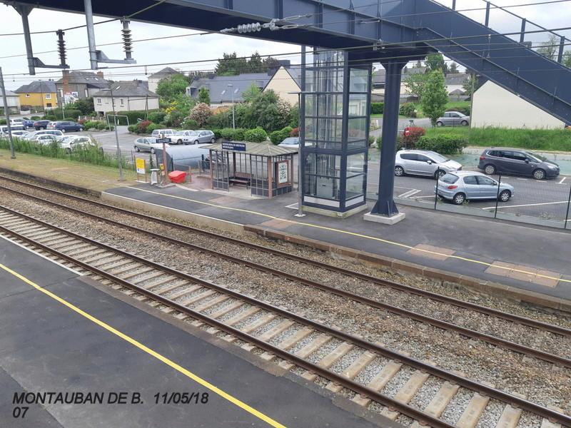 Gare de Montauban de Bretagne (Menezalban) [11/05/18] 20181070