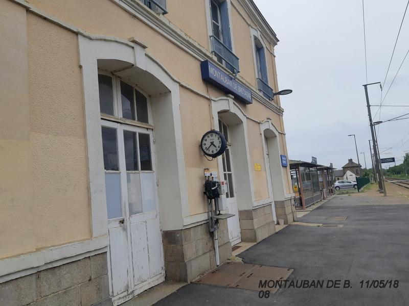 Gare de Montauban de Bretagne (Menezalban) [11/05/18] 20181071