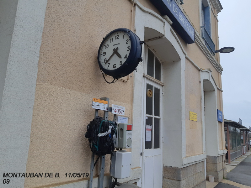 Gare de Montauban de Bretagne (Menezalban) [11/05/18] 20181072