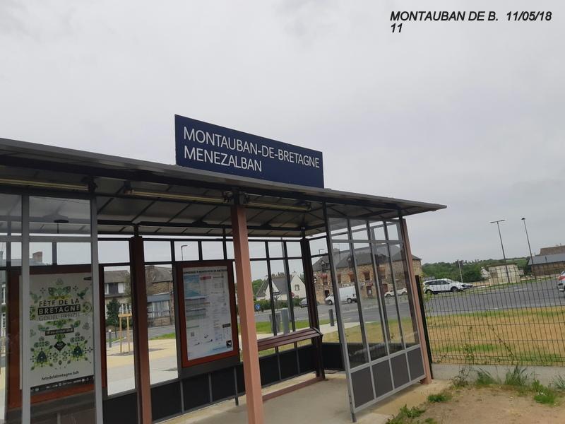 Gare de Montauban de Bretagne (Menezalban) [11/05/18] 20181074