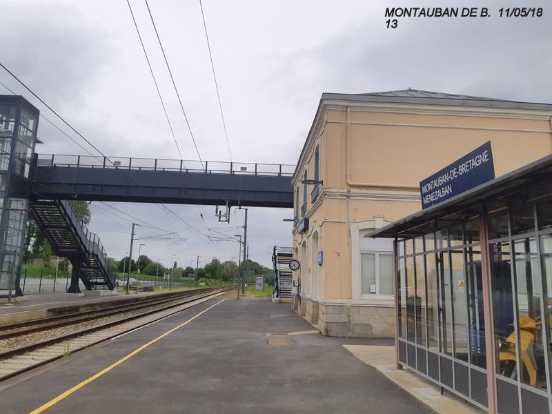 Gare de Montauban de Bretagne (Menezalban) [11/05/18] 20181076