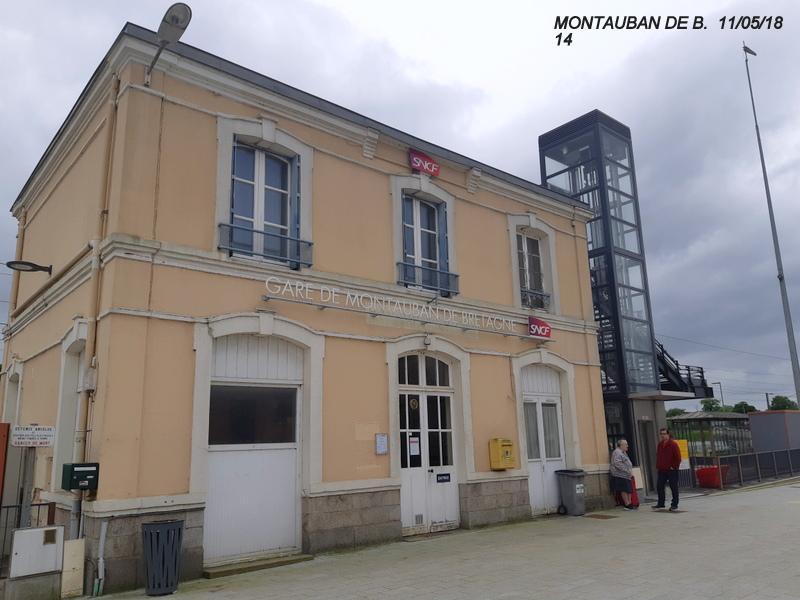 Gare de Montauban de Bretagne (Menezalban) [11/05/18] 20181077