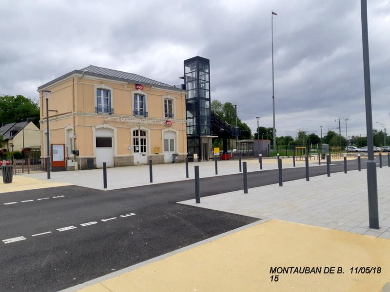 Gare de Montauban de Bretagne (Menezalban) [11/05/18] 20181078