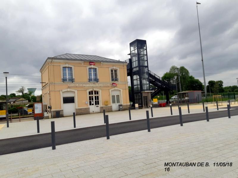 Gare de Montauban de Bretagne (Menezalban) [11/05/18] 20181079