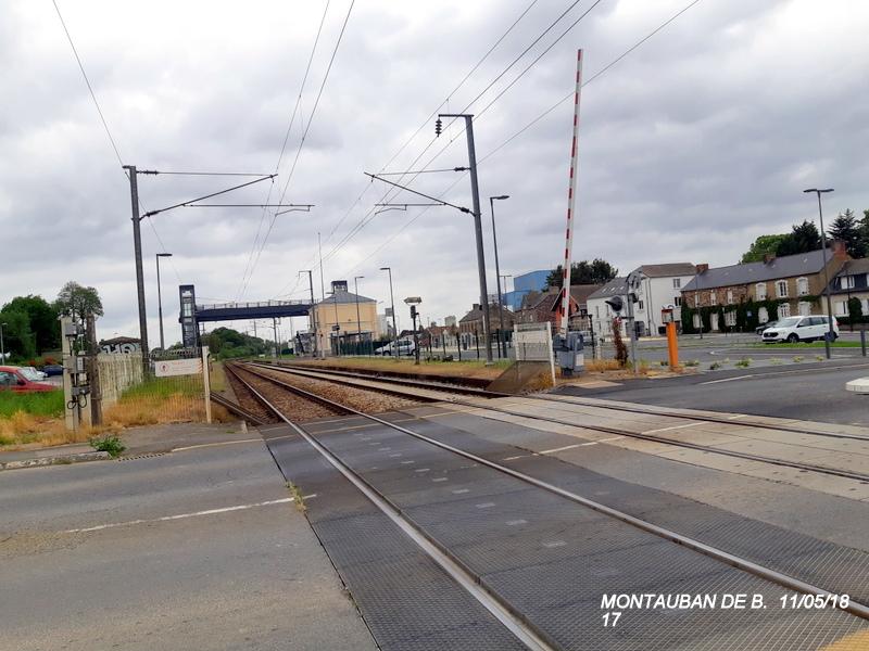 Gare de Montauban de Bretagne (Menezalban) [11/05/18] 20181080
