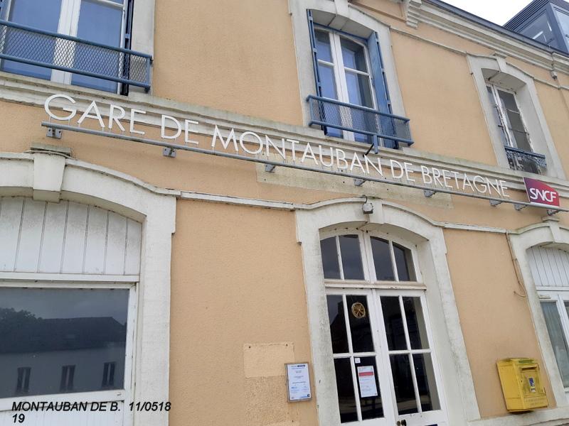 Gare de Montauban de Bretagne (Menezalban) [11/05/18] 20181082
