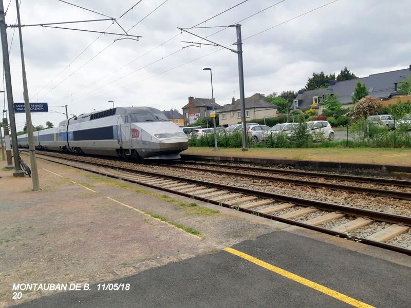 Gare de Montauban de Bretagne (Menezalban) [11/05/18] 20181083