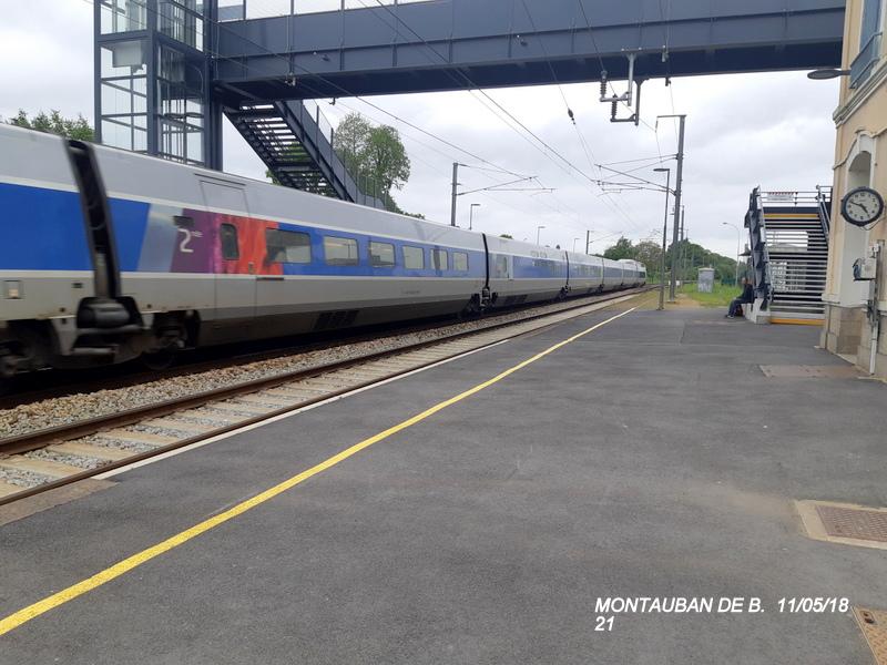 Gare de Montauban de Bretagne (Menezalban) [11/05/18] 20181084