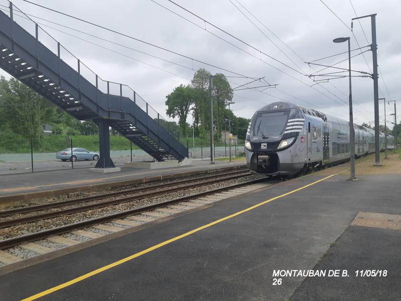 Gare de Montauban de Bretagne (Menezalban) [11/05/18] 20181089