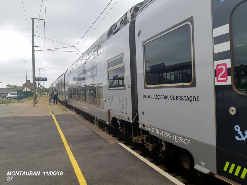 Gare de Montauban de Bretagne (Menezalban) [11/05/18] 20181090