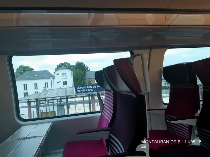 Gare de Montauban de Bretagne (Menezalban) [11/05/18] 20181092