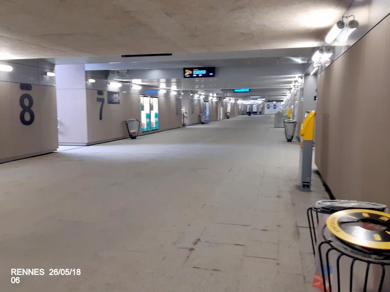 Rennes : quai E voies 9 et 10 (impasse) [25/05/18] 20181239