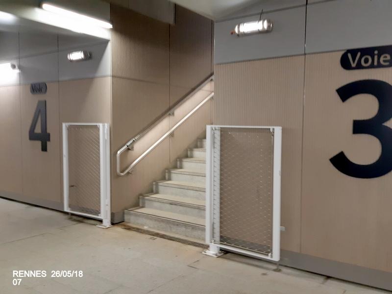 Rennes : quai E voies 9 et 10 (impasse) [25/05/18] 20181240