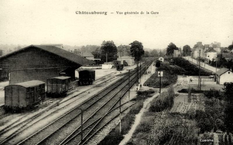 Gare de Châteaubourg [16/03/18] Chatea10