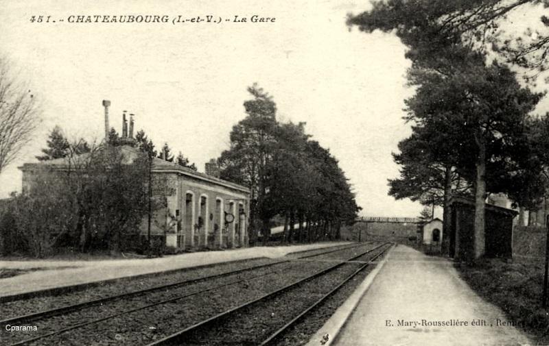 Gare de Châteaubourg [16/03/18] Chatea11