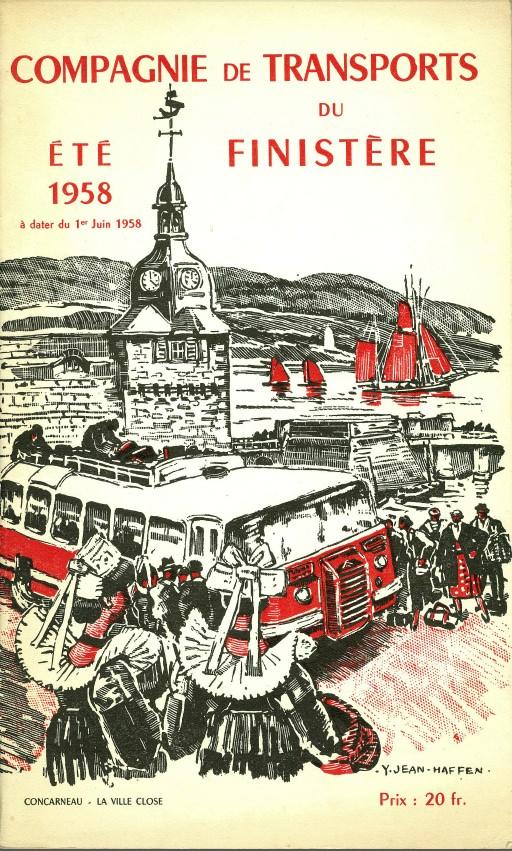 LES TRANSPORTS VERNEY : Quand les cars concurrençaient déjà le Rail Ctf19510