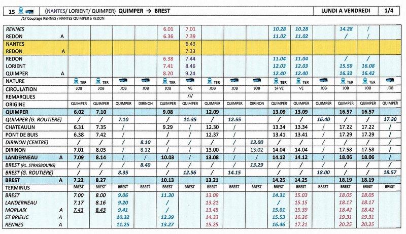 BREST / QUIMPER Horaires des circulations ferroviaires à compter du 10 décembre 2017 Image010