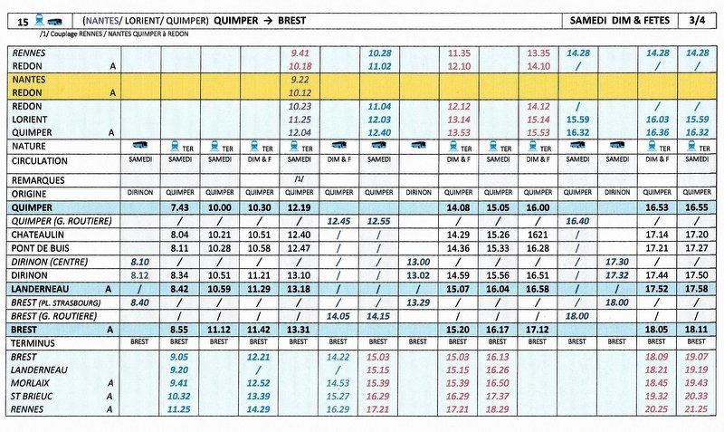 BREST / QUIMPER Horaires des circulations ferroviaires à compter du 10 décembre 2017 Image012