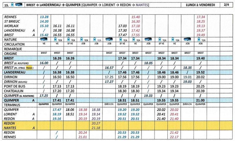 BREST / QUIMPER Horaires des circulations ferroviaires à compter du 10 décembre 2017 Image015