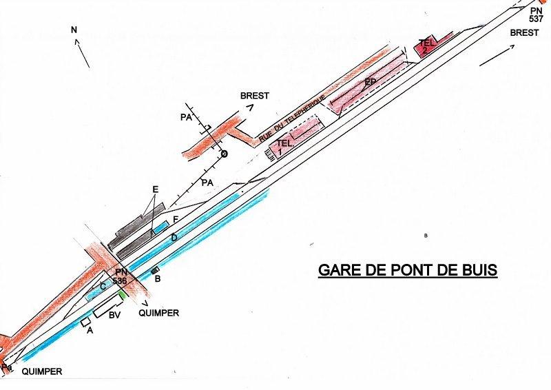 QUIMPER-BREST Situation PONT DE BUIS au 10/12/2017 Image063