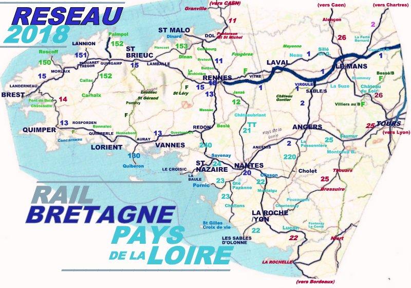 CARTES  RESEAU RAIL BRETAGNE PAYS DE LA LOIRE Image094