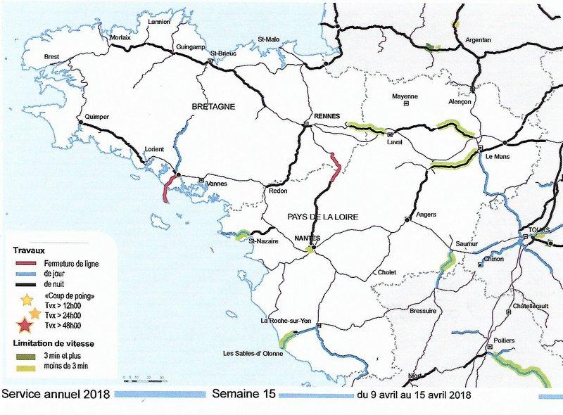 Chantier SNCF Réseau BRETAGNE-PAYS DE LA LOIRE AVRIL 2018 Image138