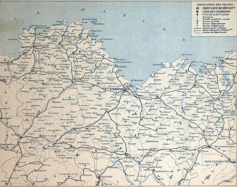 Les Chemins de fer dans les cartes départementales des P&T (1920) Img02211