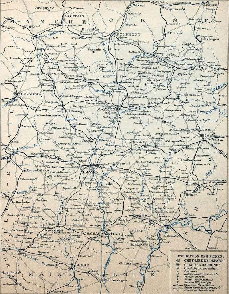 Les Chemins de fer dans les cartes départementales des P&T (1920) Img05310