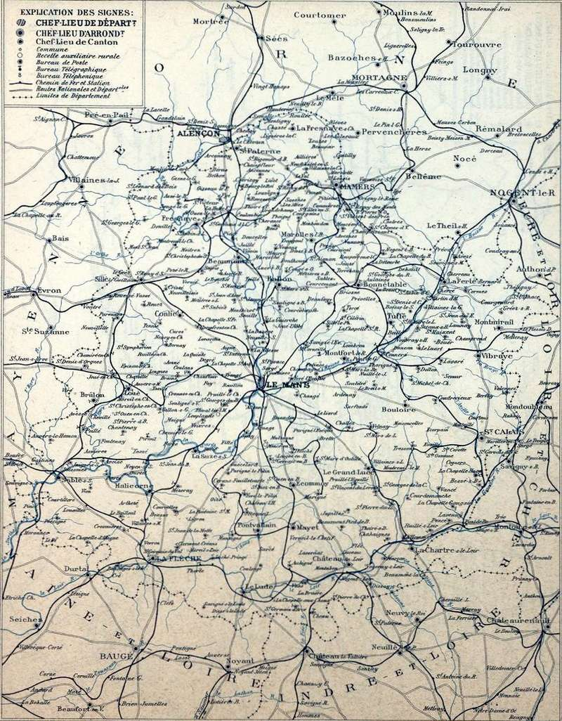 Les Chemins de fer dans les cartes départementales des P&T (1920) Img07210