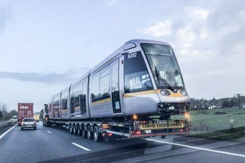 Insolite. Quand le tramway de Dublin passe par Nantes et Rennes  La-vil10