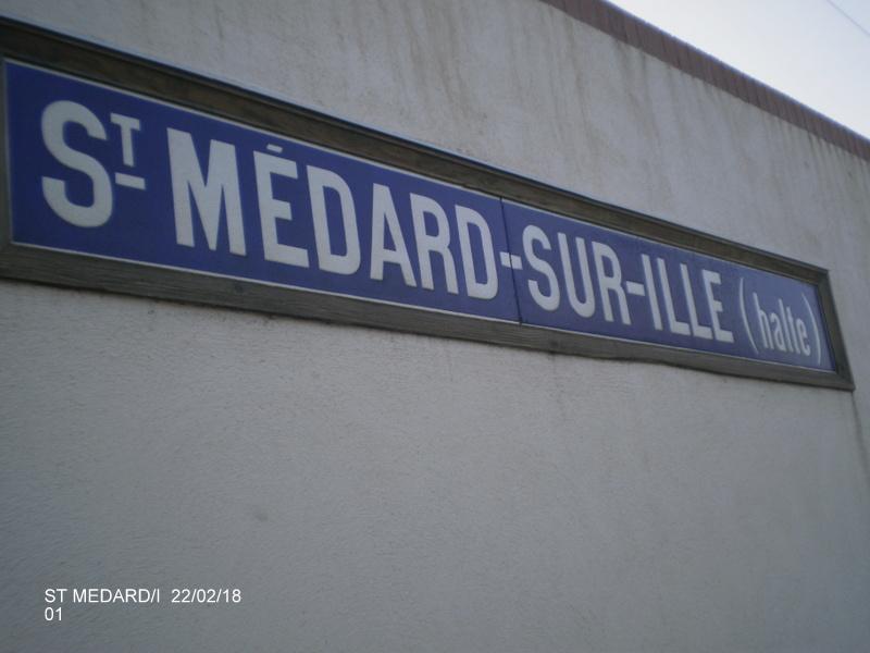 Halte de St Médard:Ille (ligne Rennes-Dol)  22/02/18 P9190010