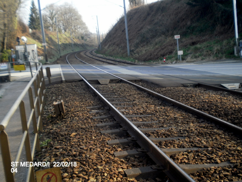 Halte de St Médard:Ille (ligne Rennes-Dol)  22/02/18 P9190013