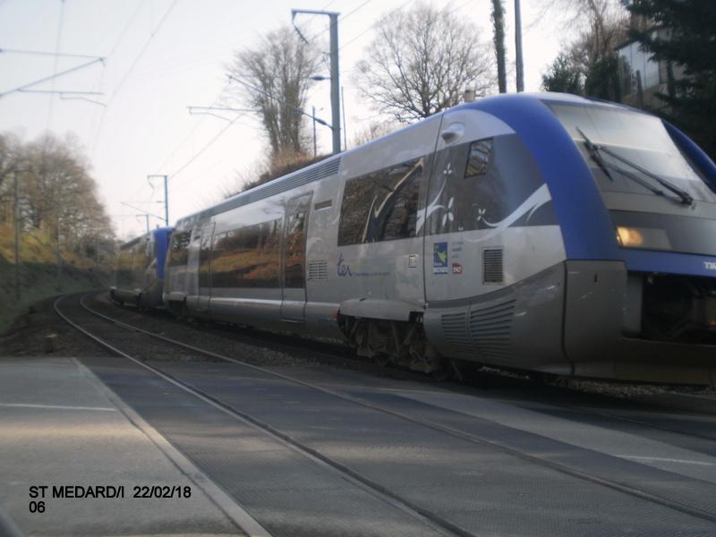 Halte de St Médard:Ille (ligne Rennes-Dol)  22/02/18 P9190015