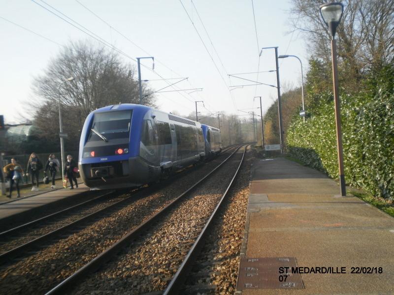 Halte de St Médard:Ille (ligne Rennes-Dol)  22/02/18 P9190016
