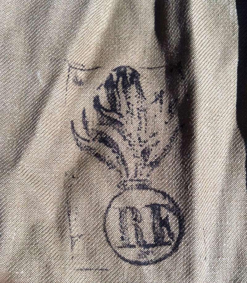 Informations tampons sur veste bourgeron 1938 Img_2310