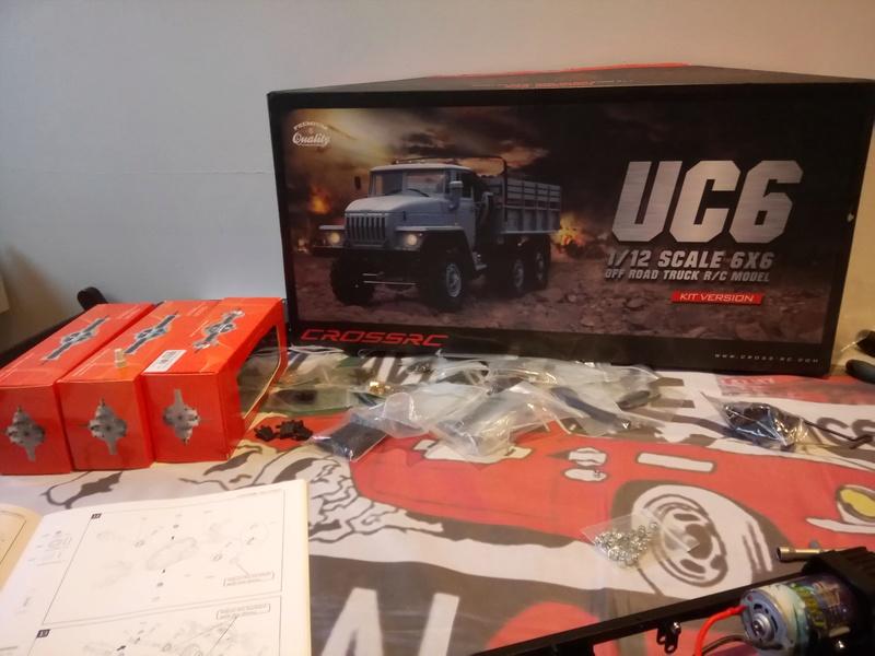 Ural uc6 4320 camión 🚛 scale 1/12 6x6, Cross RC  Dsc_1442