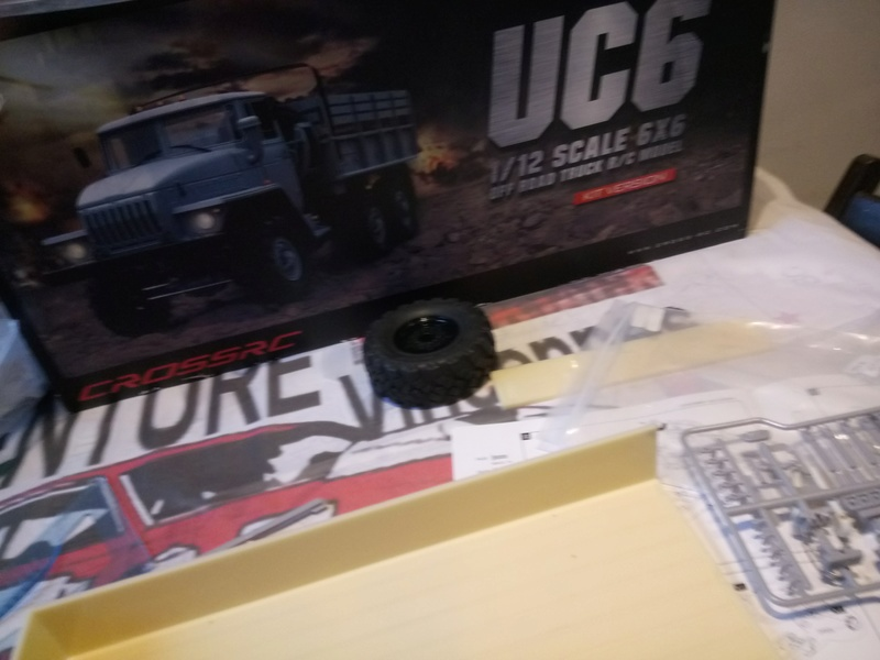 Ural uc6 4320 camión 🚛 scale 1/12 6x6, Cross RC  - Page 2 Dsc_1527