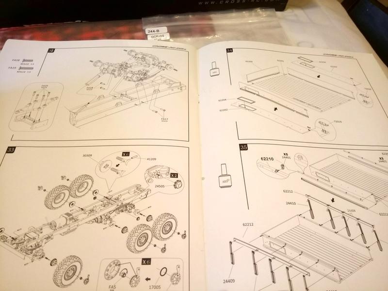 Ural uc6 4320 camión 🚛 scale 1/12 6x6, Cross RC  - Page 2 Dsc_1530