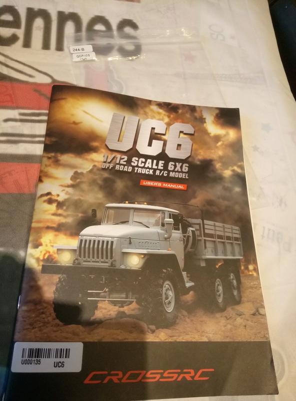 Ural uc6 4320 camión 🚛 scale 1/12 6x6, Cross RC  - Page 2 Dsc_1531